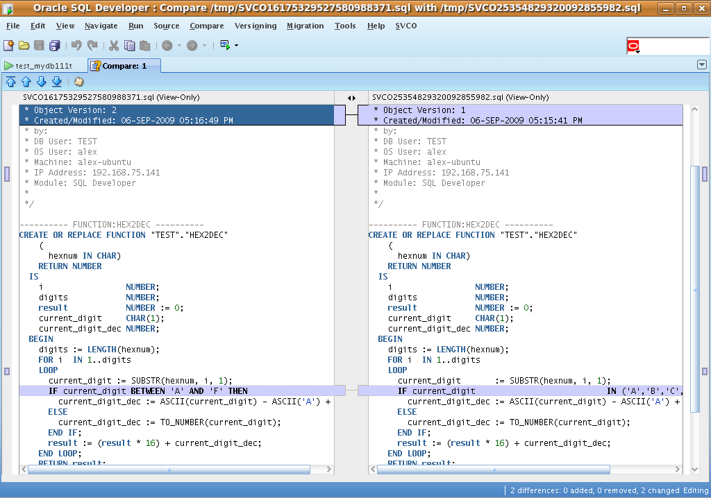 Tutorial - SVCO Extension for Oracle SQL Developer - SUMsoft